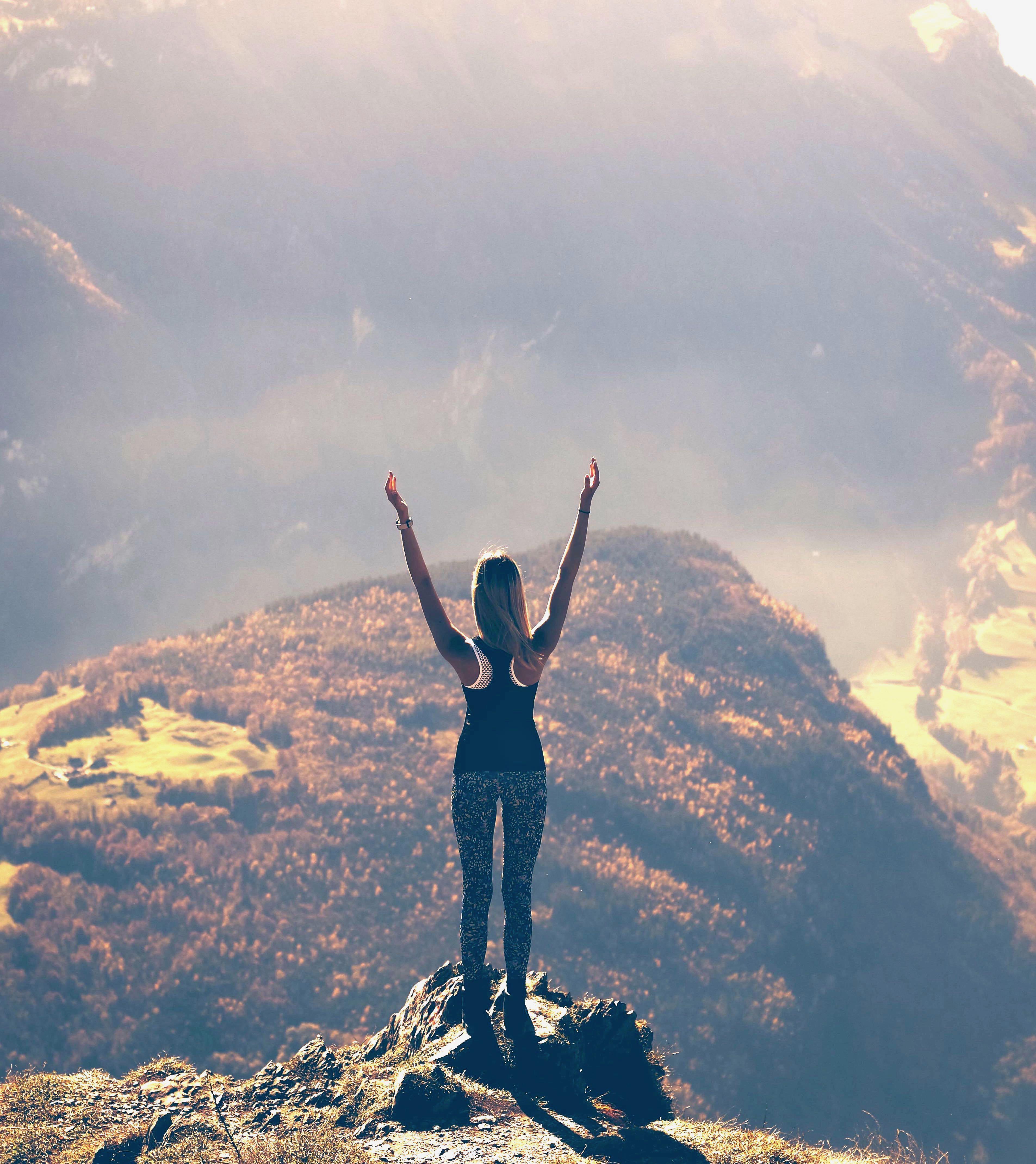 Das Streben nach Passion und Bestimmung im Leben
