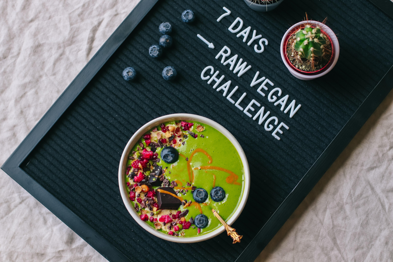 7 Tage Rohkost – wie gesund ist das wirklich?