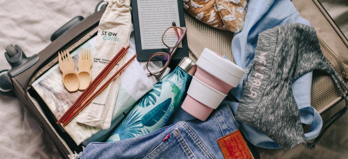Eco-friendly und plastikfrei reisen: Was packe ich in den Koffer? + Gewinnspiel