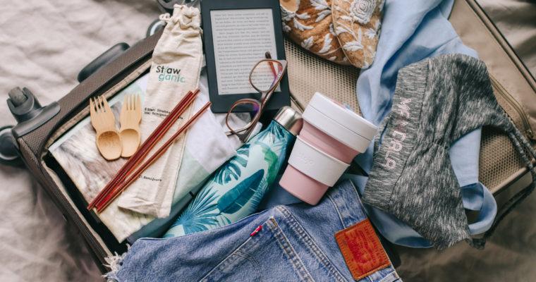 Eco-friendly und plastikfrei reisen: Was packe ich in den Koffer?