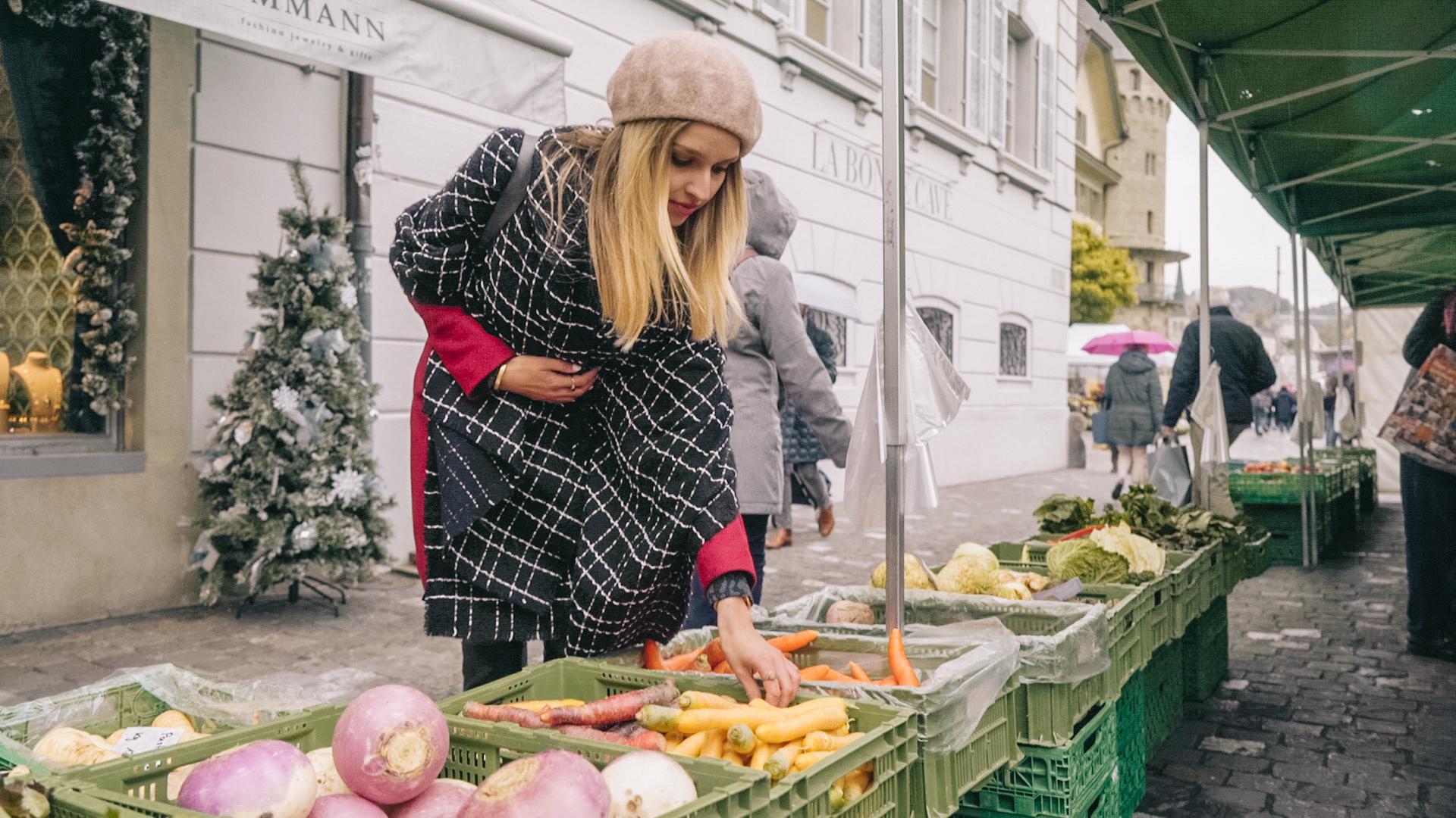 Zero Waste einkaufen: Begleitet mich auf den Wochenmarkt