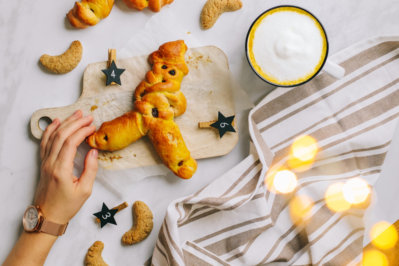Grittibänze Rezept: Mein Hefeteig-Liebling aus der Kindheit veganisiert