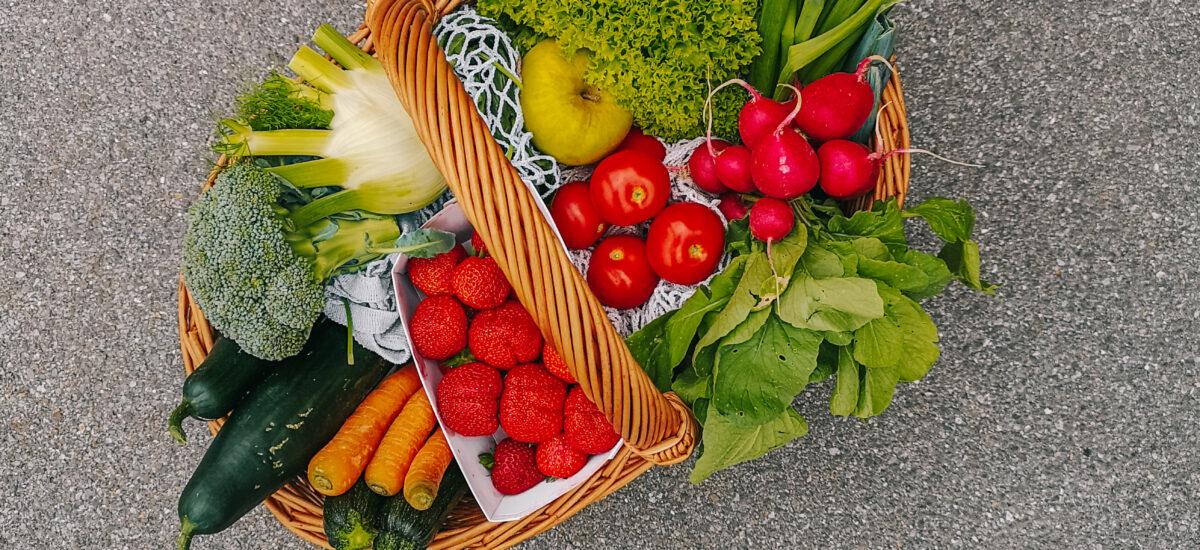 Aninas Saisonalkalender: Dieses Obst und Gemüse gibt's im Juni/Juli regional